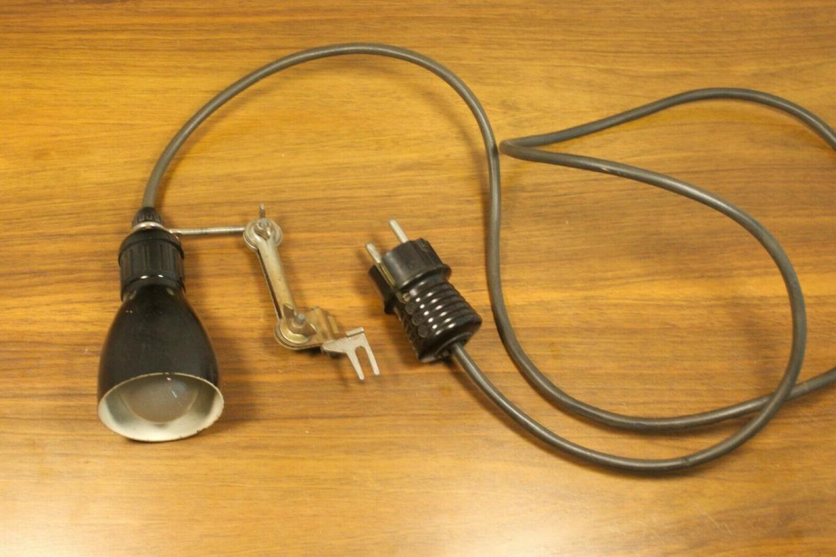Werkstattlampe industrielampe industriedesign industrial lamp 50er jahre vintage 0