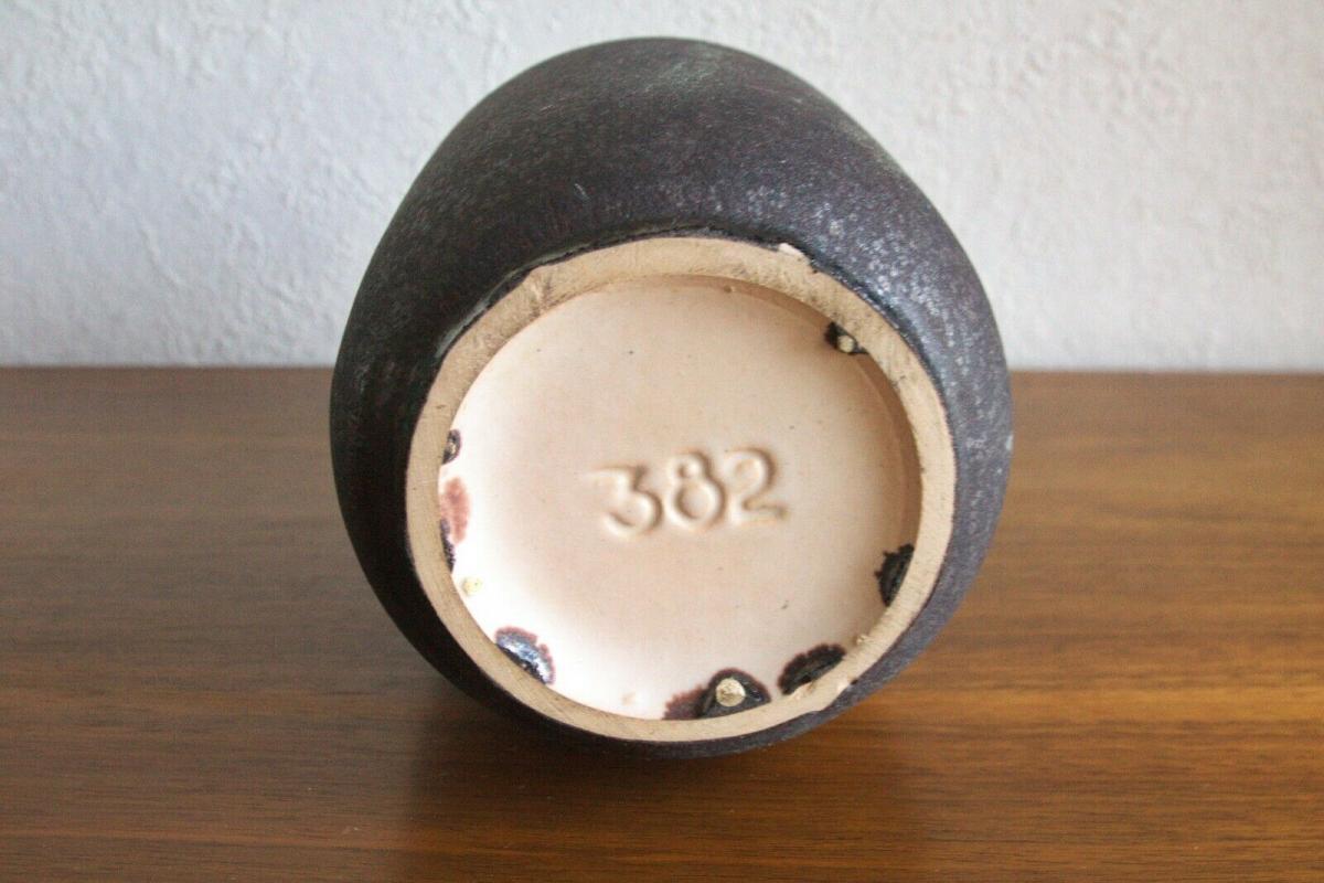 Wohl dänemark krug keramikkrug vase keramik 382 danish design midcentury 60er 6