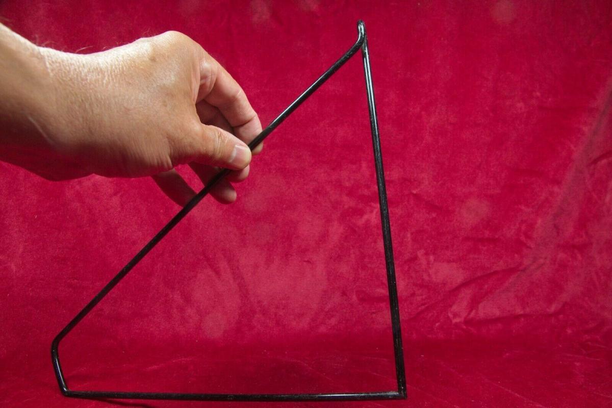 Bodenhalter leiter schwarz für altes stringregal string seitenteil 60er jahre #1 3