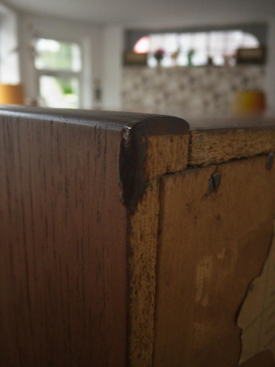 Teak teakholz highboard schrank buffet bartels werke 205 cm 60er danish modern 5