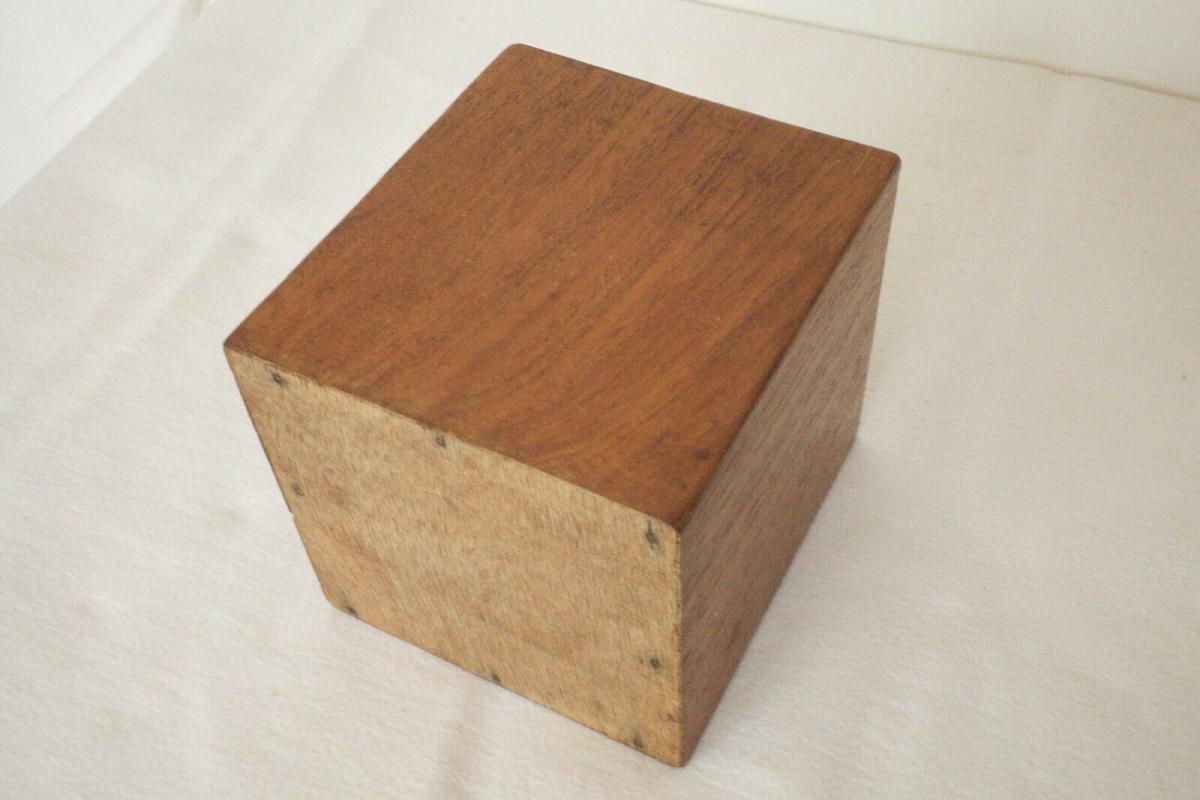 Mid century teak kranich teakholz reiher accessoire 60er jahre danish modern 4