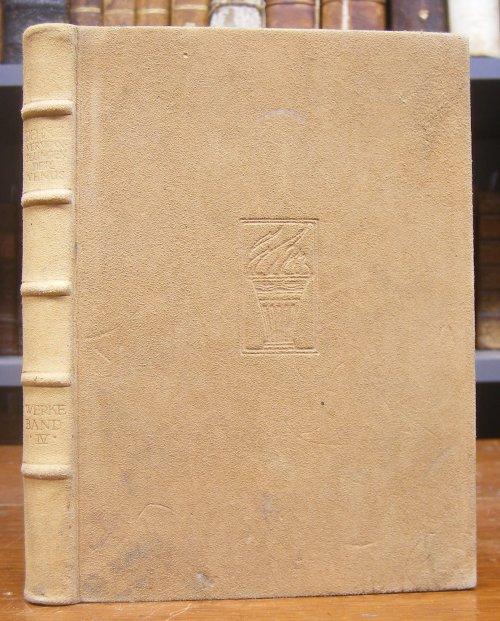 Dehmel, Richard: Gesammelte Werke in zehn Bänden. Band 4 (einzeln).