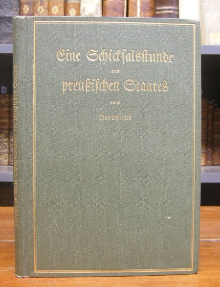 Borussicus (d. i. ?): Eine Schicksalsstunde des preußischen Staates. Betrachtungen zur Neuordnung der preußischen Verwaltung.