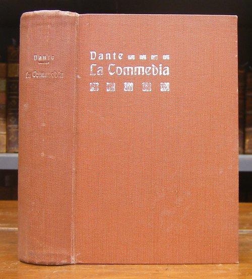 Dante, Alighieri: La Commedia. Fiorentiono. Novamente riveduta nel testo e dichiarata da Brunone Bianchi. Dodicesima edizione corredata del rimario.