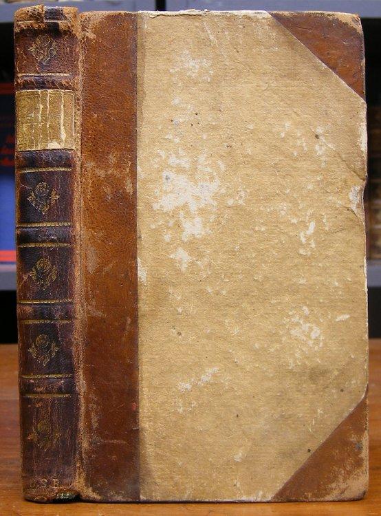 Marmontel, (Jean-Francois): Belisaire. Nouvelle edition augmentee. Avec figures {recte: avec 4 planches gravees par L.A. Chouvin, d'apres H. Gravelot}.