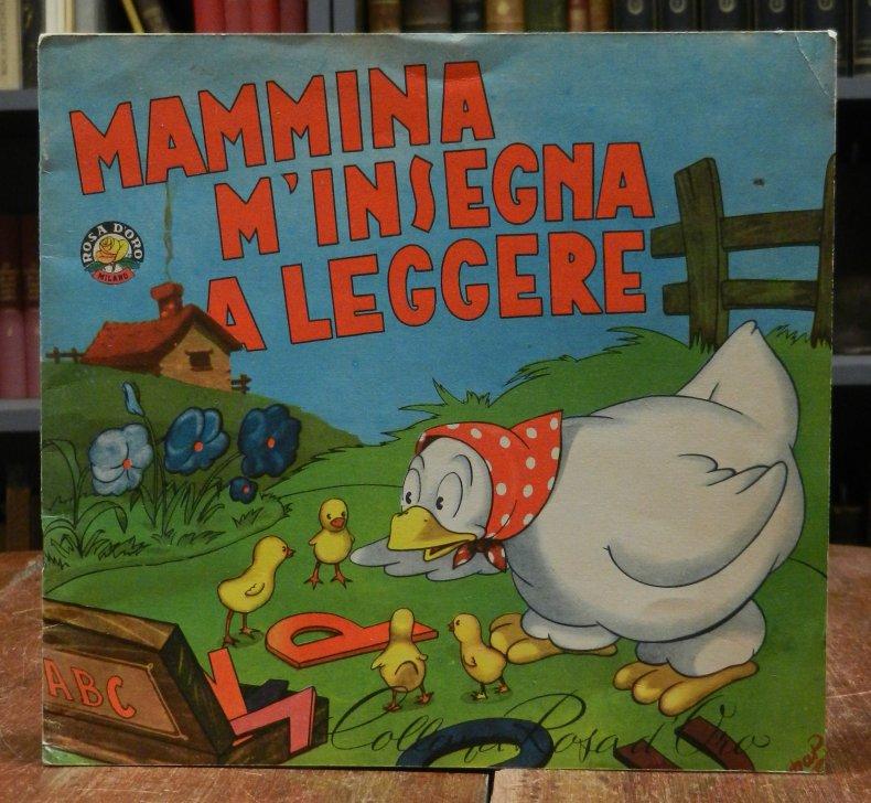 Mammina m'insegna a leggere. ABC sillabario per i piu piccoli.
