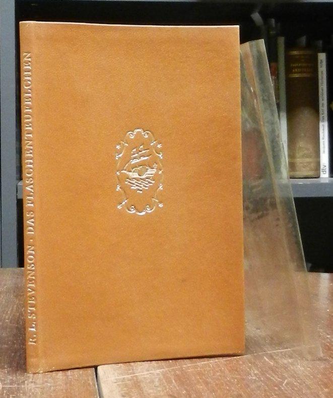 Stevenson, Robert Louis: Das Flaschenteufelchen. Mit Holzschnitten von Hans Alexander Müller. 11.-15. Tsd.