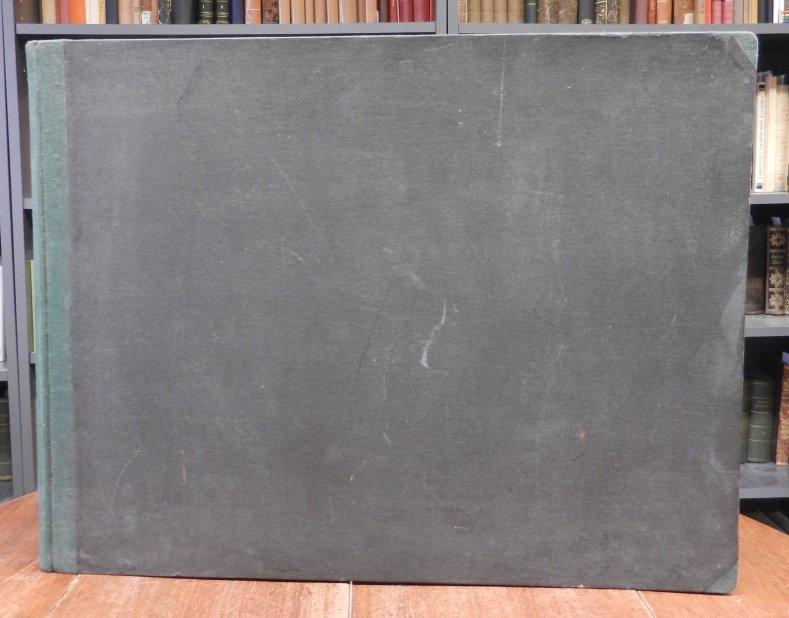 Kassenbuch, Wirtschaftsbuch, Kontobuch, Kontenbuch: Altes handgebundenes Kassenbuch mit 19 Spalten zu 45 Zeilen jeweils mit Soll und Haben Unterspalte und ohne jegliche Einträge (unbenutzt).