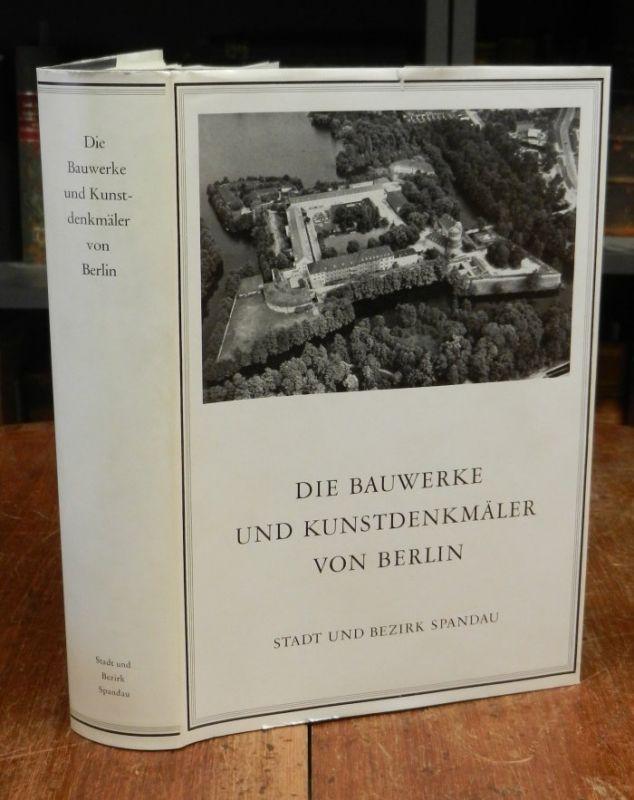 Jahn, Gunter: Die Bauwerke und Kunstdenkmäler von Berlin. Stadt und Bezirk Spandau