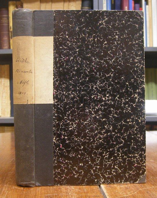Seidl, Johann Gabriel: Johann Gabriel Seidl's niederösterreichische Gedichte. Gesammtausgabe. / Flinserln. Dritte Auflage.