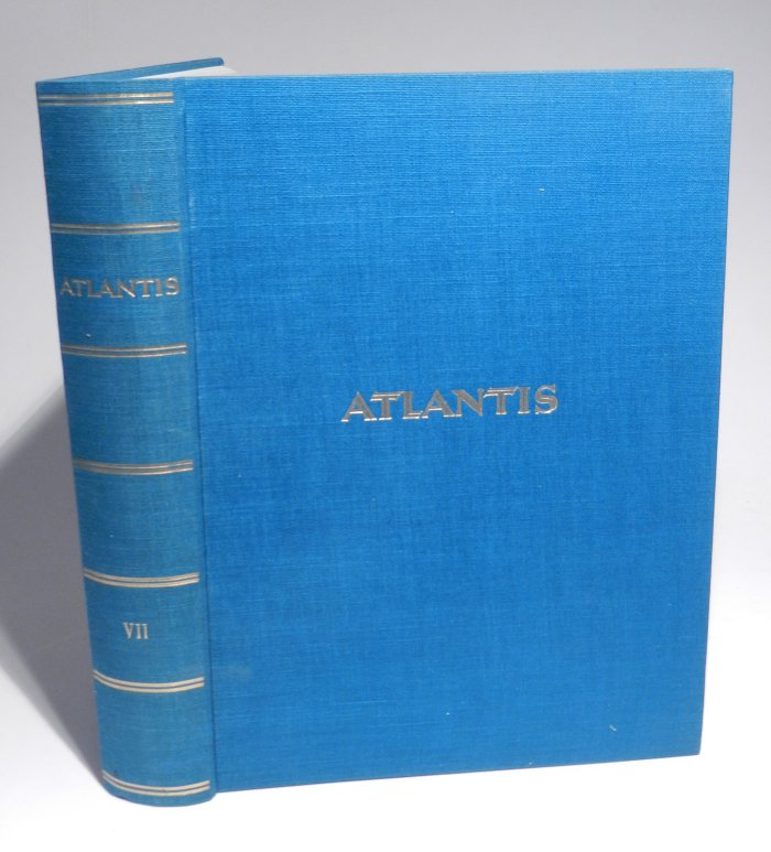 Hürlimann, Martin (Herausgeber): Atlantis. Länder - Völker - Reisen. 7. Jahrgang, Heft 1-12 cplt. in einem Band.