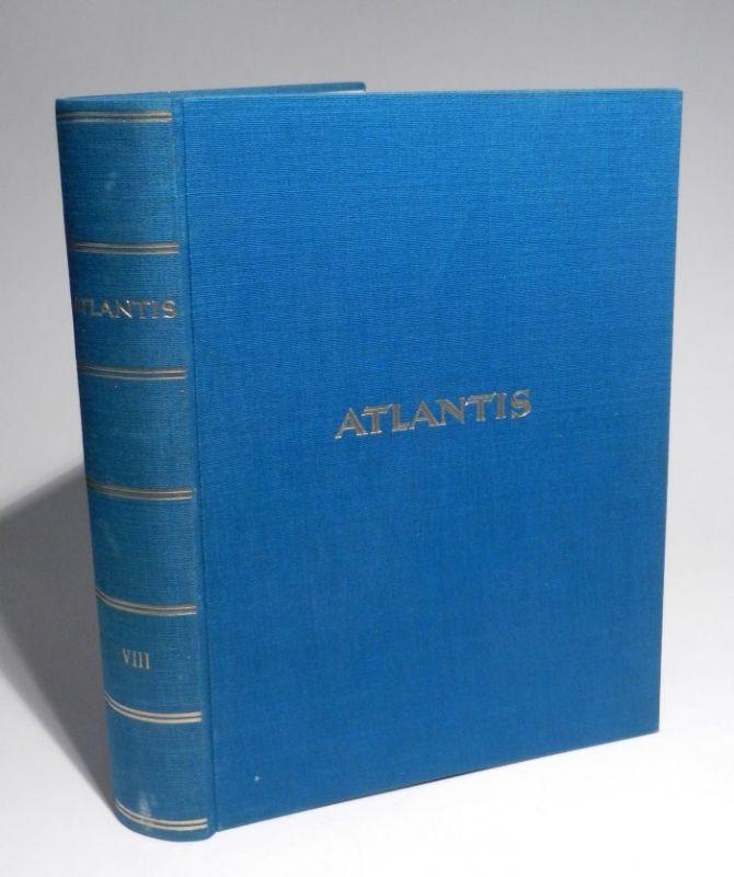 Hürlimann, Martin (Herausgeber): Atlantis. Länder - Völker - Reisen. 8. Jahrgang, Heft 1-12 cplt. in einem Band.