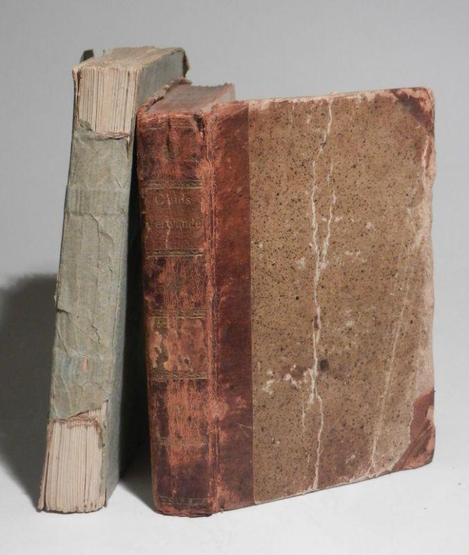 Ovid, Publius Ovidius Naso / Johann Heinrich Voss: Verwandlungen. In zwei Theilen, cplt. in zwei Theilen. Mit einem Frontispiz im ersten Band.