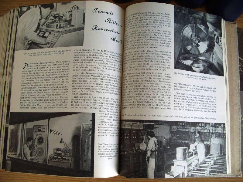 Zeitschrift Wissen und Leben, Jahrgänge 1958-1962, gebunden, DDR 3