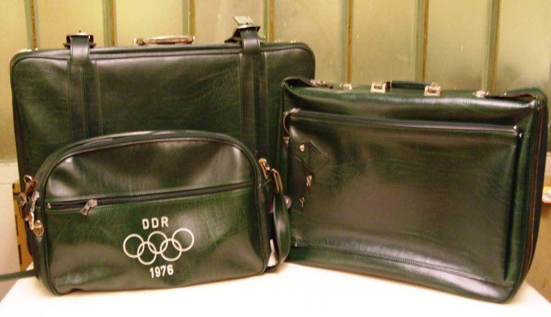 Werbung: Kofferset der DDR-Olympiamannschaft Montreal 1976 0