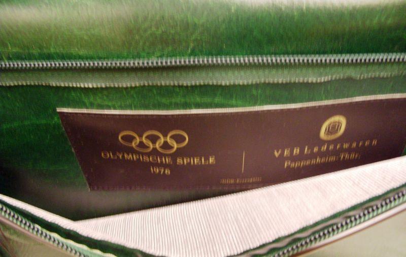 Werbung: Kofferset der DDR-Olympiamannschaft Montreal 1976 1