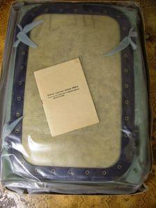 Technik - antike Medizin-Technik, Inkubator, Transport-Inkubator, Schutzbehältnis für Säuglinge, mit Tragegestell, sowjetisches Fabrikat, 40er/ 50er Jahre oder älter