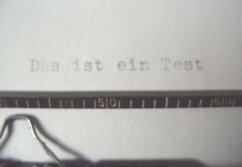 Antike Technik / antike Bürotechnik: mechanische Reiseschreibmaschine ERIKA / Modell 5 TAB. - A.-G. vorm. Seidel &  Naumann Dresden, 1934 2