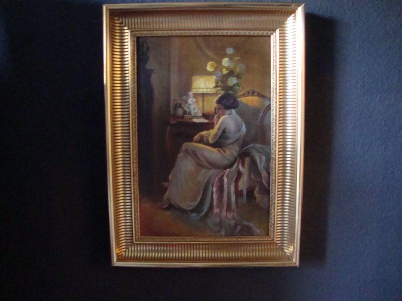 Art Deco Gemälde Skandinavien
