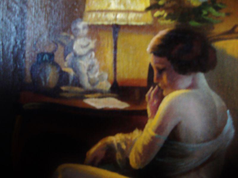 Art Deco Gemälde Skandinavien 1