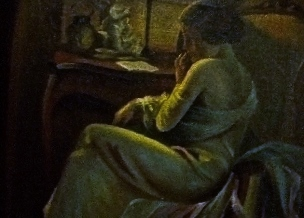 Art Deco Gemälde Skandinavien 2