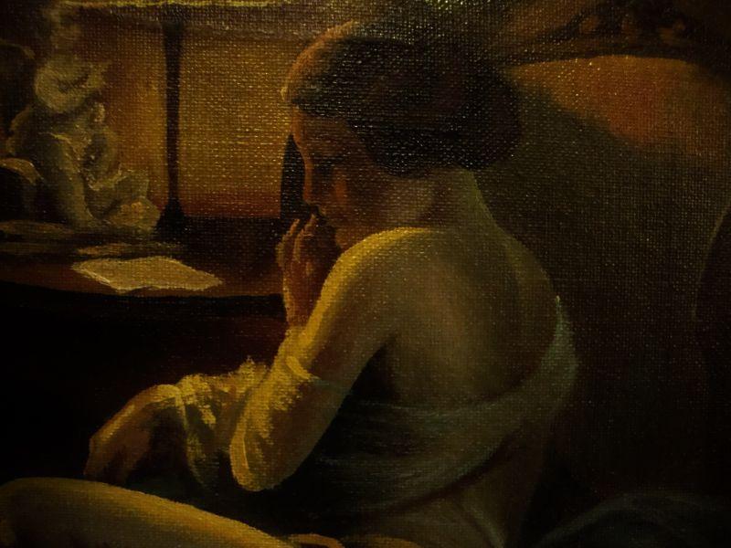 Art Deco Gemälde Skandinavien 3