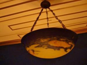 Jugendstil Deckenlampe Frankreich