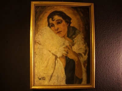 Art Deco Gemälde Tschechoslowakei