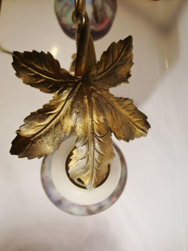 Muller Freres Art Nouveau Tischlampe 2