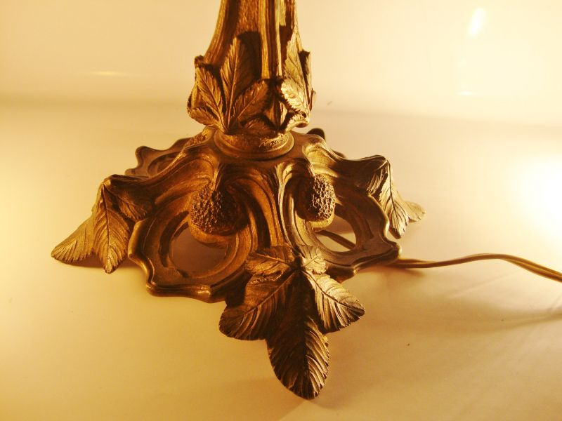 Muller Freres Art Nouveau Tischlampe 4