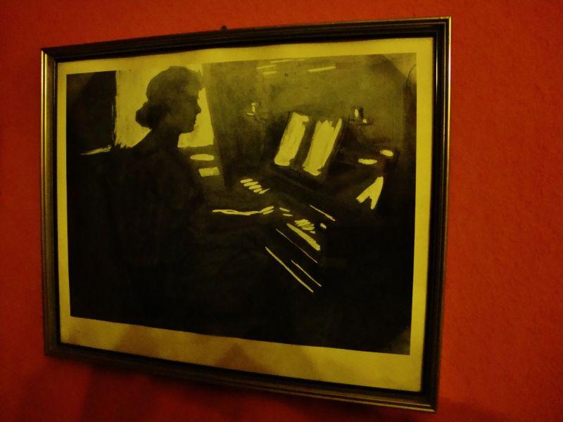 Art Deco Gouache,Georg Hilgers 1