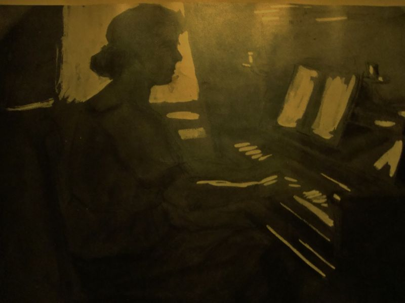 Art Deco Gouache,Georg Hilgers 5