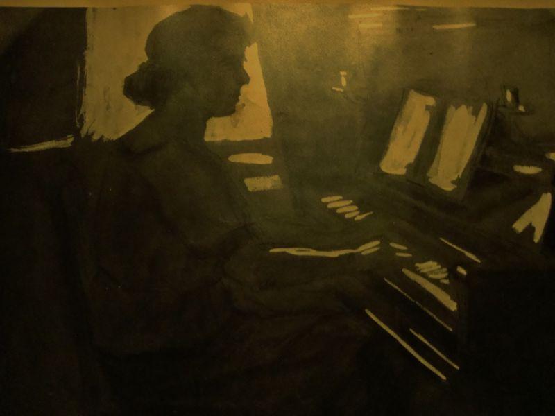 Art Deco Print,Georg Hilgers 5