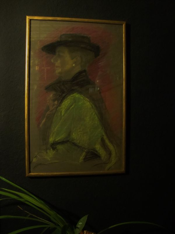 Art Deco Gemälde 1