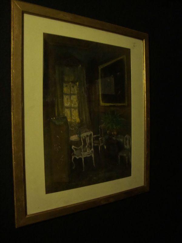 Art Nouveau Gemälde Jugendstil