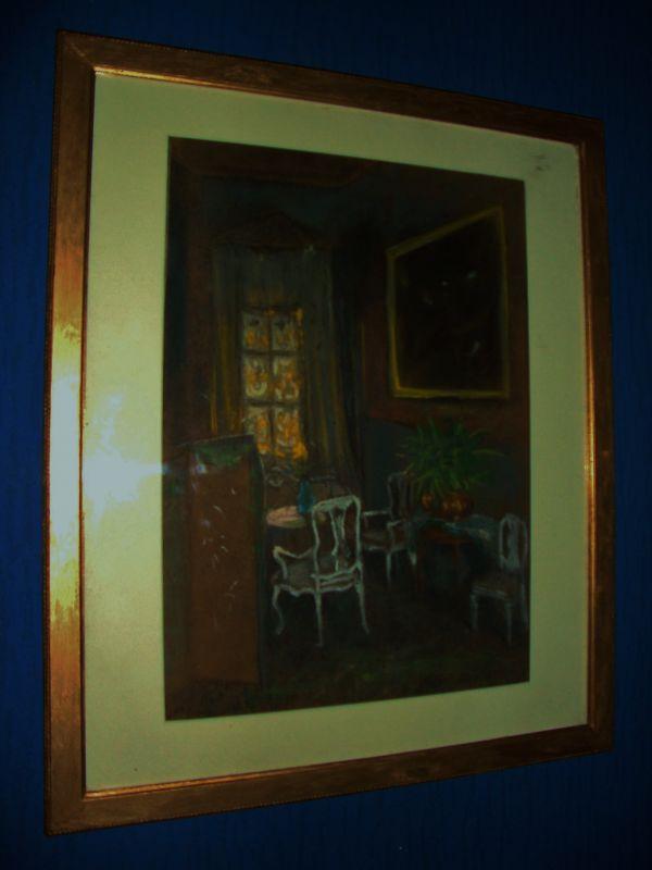 Art Nouveau Gemälde Jugendstil 1