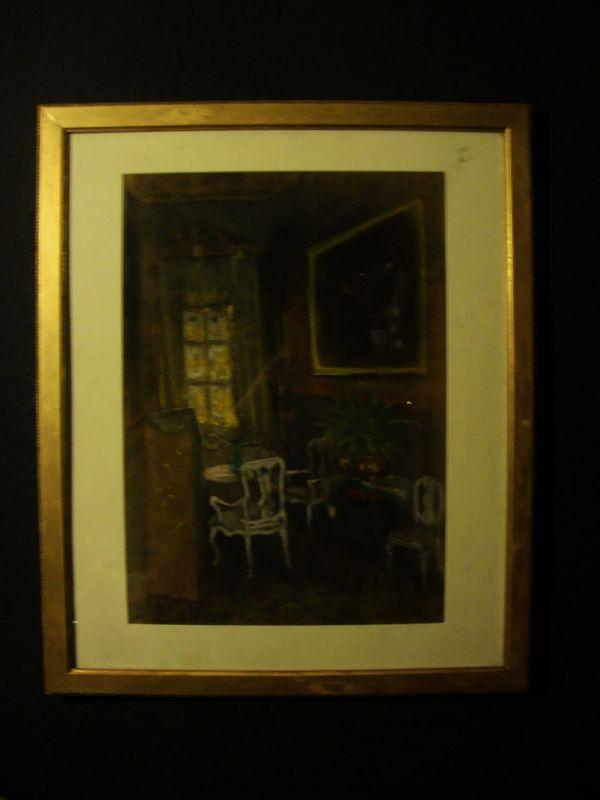 Art Nouveau Gemälde Jugendstil 2