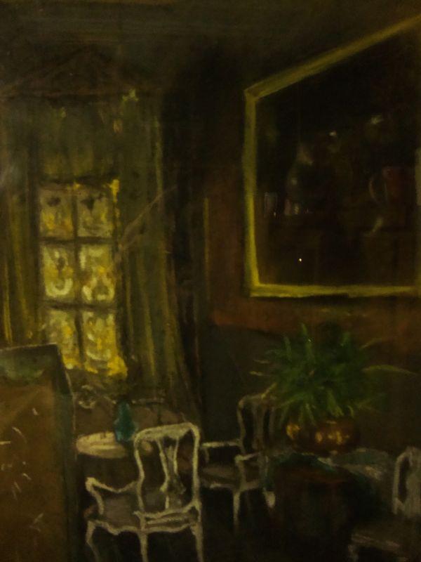 Art Nouveau Gemälde Jugendstil 3
