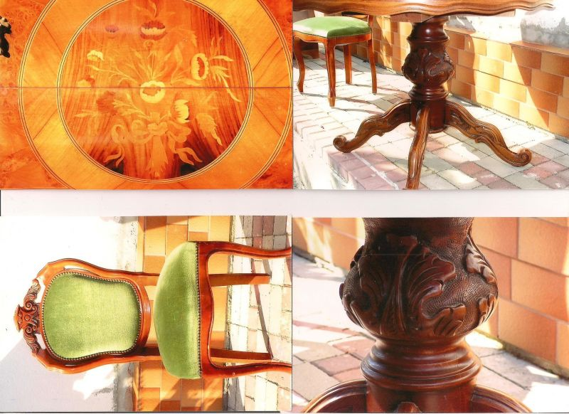 Esszimmer Tische Ausziehbar : ... Tisch ausziehbar, mit Säulenfuß4 ...