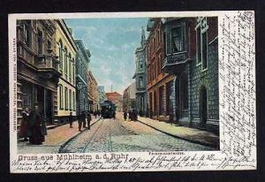 Ansichtskarte Mülheim an der Ruhr Broichv1906
