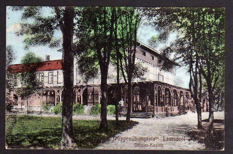 41579;FotoAK Truppenübungsplatz Schaderwitz Lamsdorf Nr 41579 oldthing Ansichtskarten Europa
