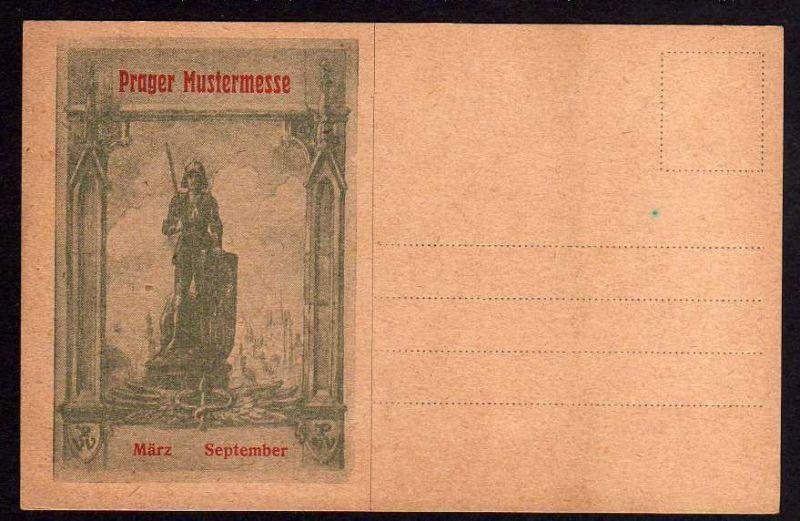 Ansichtskarte Prager Mustermesse 1925