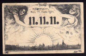 Ansichtskarte Hildesheim 11.11.11.Künstlerkarte WS 1911
