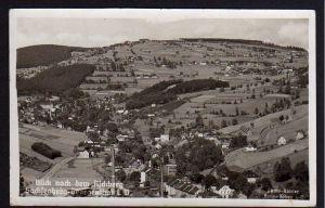 Ansichtskarte Sachsenberg-Georgenthal Aschberg 1942 Feldpost