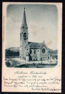 Ansichtskarte Heilbronn Friedenskirche 1899