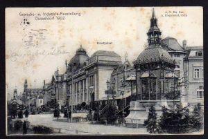 Ansichtskarte Düsseldorf 1902 Gewerbe- u. Industrie Ausstellung Kunstpalast