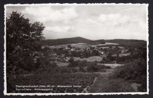 Ansichtskarte Steinigtwolmsdorf 1937 Landpoststempel Weifa