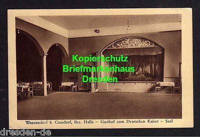 Ansichtskarte Wenzendorf Mühlberg/Elbe Cossdorf Koßdorf 1942 Gasthof zum Deutschen K