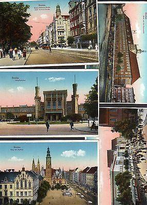 Breslau Karte 1930.10 Ansichtskarte Breslau Serie Um 1930 Schweidnitzer Strasse Matthisasplatz Alte Ohle