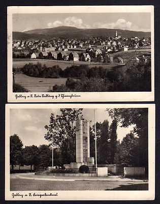 2 Ansichtskarte Gablonz an der Neiße Jablonec nad Nisou um 1935 Neue Siedlung Kriege